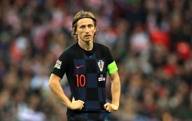 Real Madrid midfielder Luka Modric is Croatia's talisman (Mike Egerton/PA)