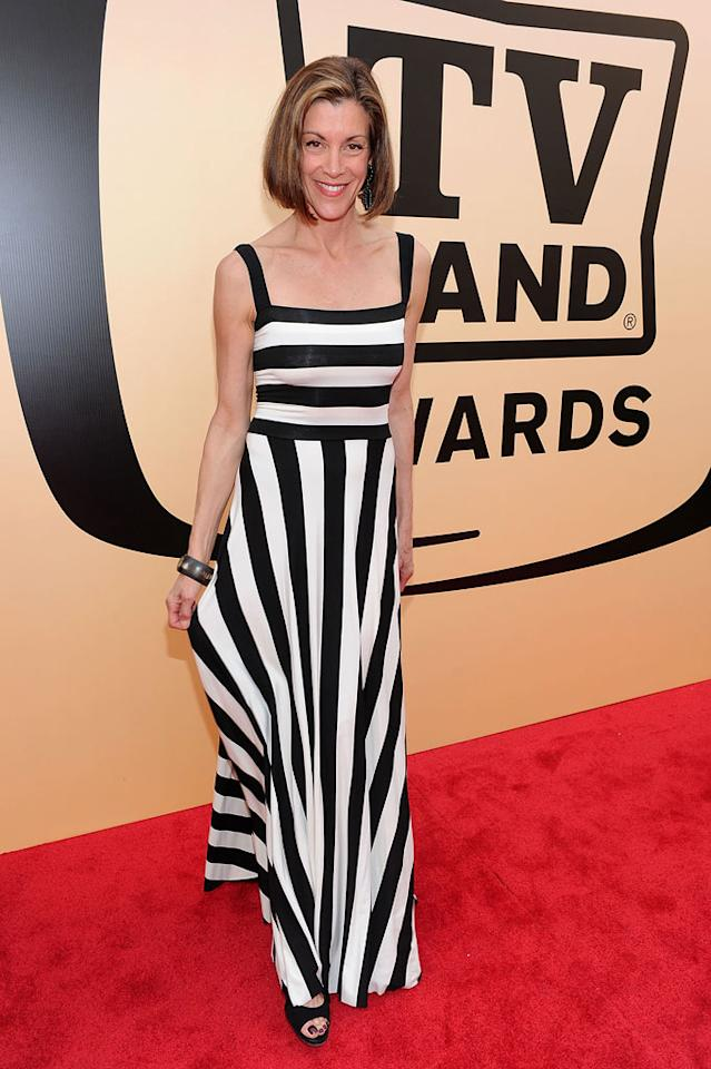 "Wendie Malick (""Just Shoot Me"") arrives at the <a href=""/the-8th-annual-tv-land-awards/show/46258"">8th Annual TV Land Awards</a> held at Sony Studios on April 17, 2010 in Culver City, California. The show is set to air Sunday, 4/25 at 9pm on TV Land."
