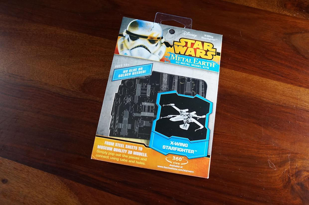 Awesome Toy Picks: Star Wars Metal Earth 3D Model Kit - X