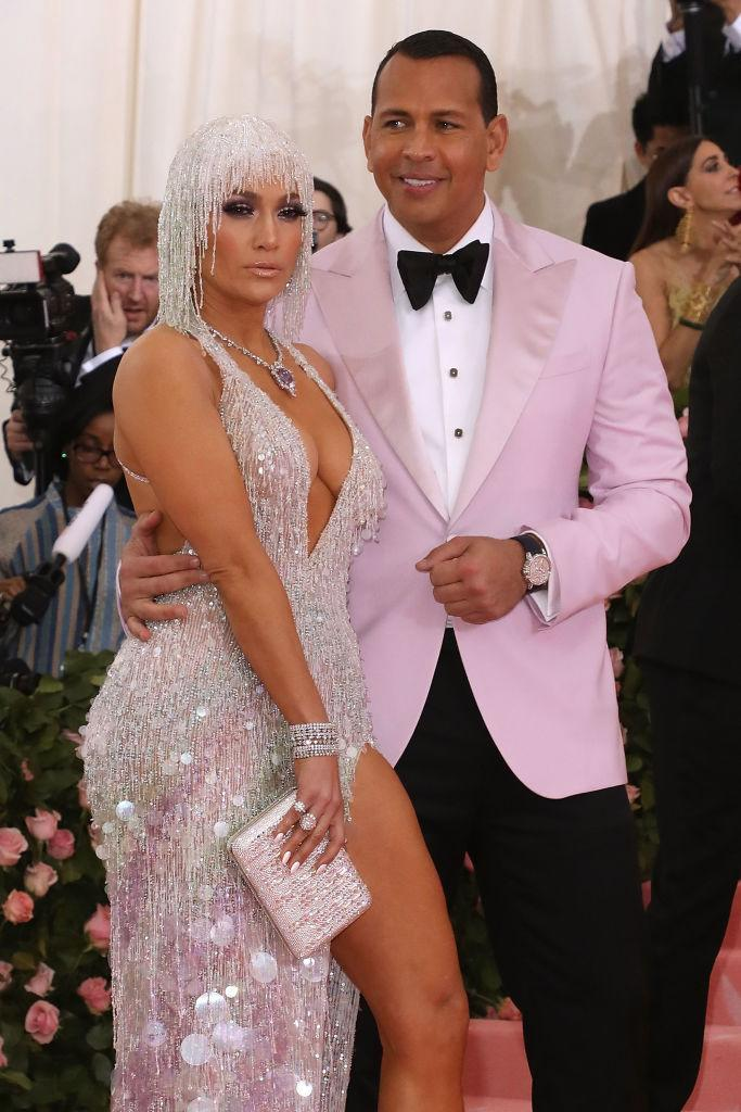 Jennifer Lopez and Alex Rodriguez at the Met Gala (Photo: Getty Images)