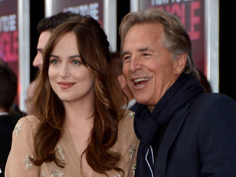 Don Johnson stunned by daughter Dakota's acting success