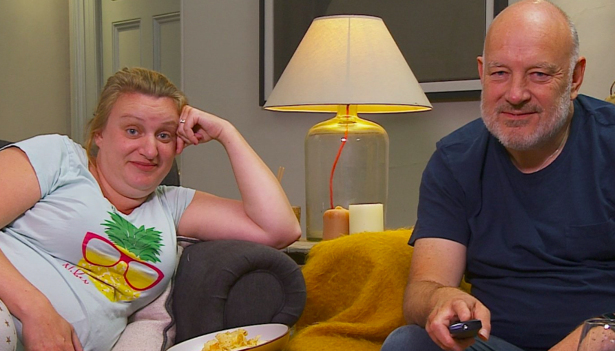Daisy and Paul Cooper appearing on Gogglebox (credit: Channel 4/Gogglebox)