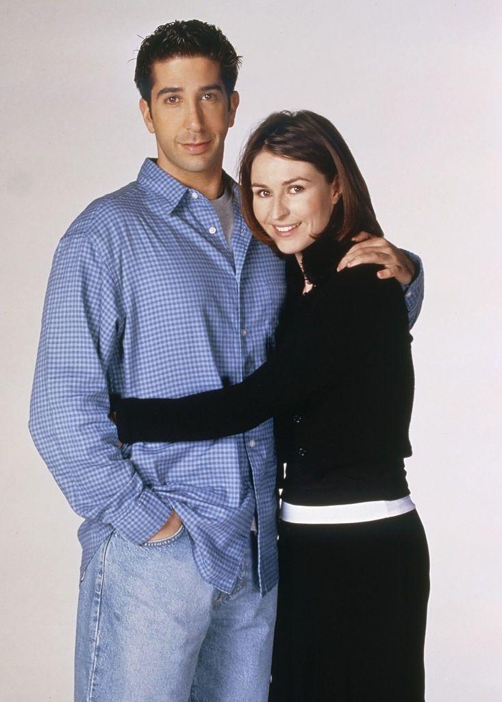 <p><strong>In Friends:</strong></p><p>Baxendale plays Emily, Ross' girlfriend and then wife. The couple fly to Emily's home city of London to marry.</p>