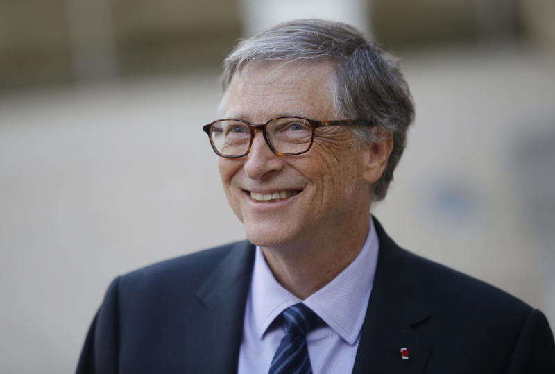 Bill Gates. Foto: AP/Michel Euler