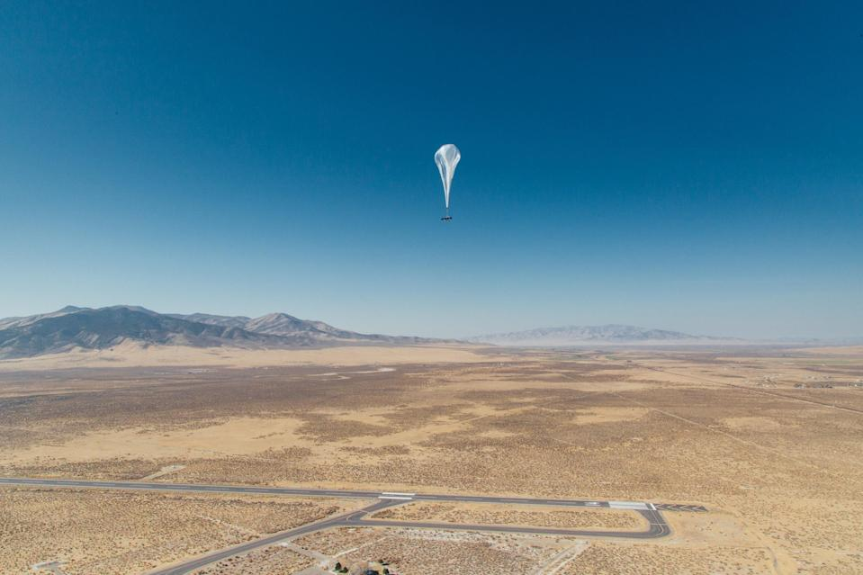 Experts use AI to make Google's high-altitude internet balloons hover in place (Loon)