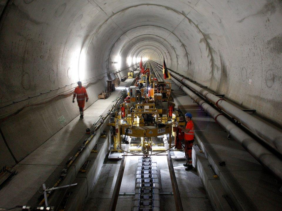 <p>After 17 years of construction, the Gotthard Base Tunnel opened in Switzerland on June 1, 2016. At 35 miles long, it's both the longest and deepest train tunnel in the world, offering unprecedented efficiency when traveling through the Alps. (Business Insider) </p>