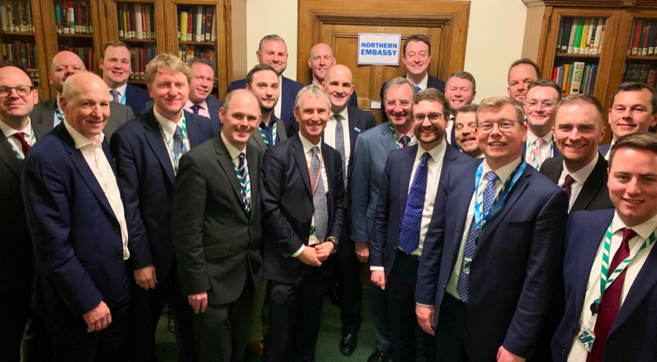 The new crop of northern MPs was criticised for not being diverse enough (Twitter)