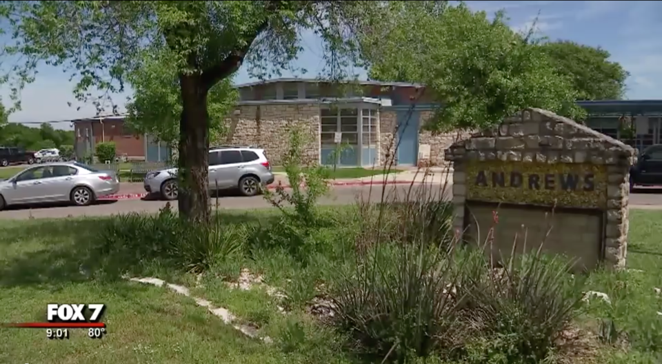 Gabbie Soto, the principal of Andrews Elementary School in Austin, Tex., allegedly bullied and harassed undocumented families. (Screenshot: Fox 7)