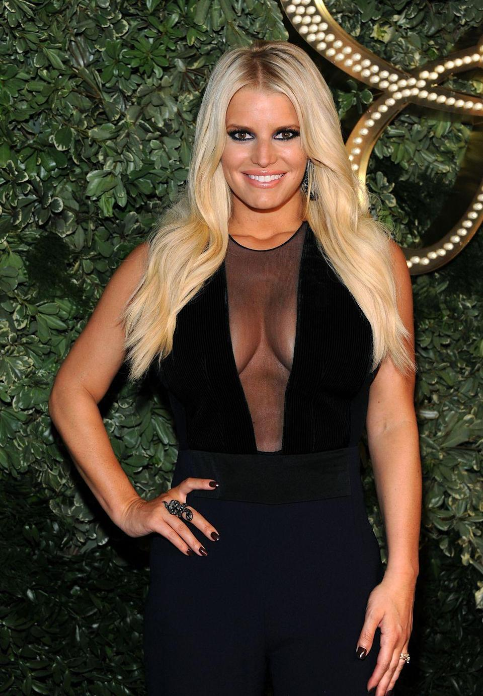 """<p>Jessica Simpson <a href=""""https://www.glamourmagazine.co.uk/article/lips-dont-lie"""" rel=""""nofollow noopener"""" target=""""_blank"""" data-ylk=""""slk:told Glamour in 2006"""" class=""""link rapid-noclick-resp"""">told Glamour in 2006</a> that she hated her lip injections. 'I had that Restylane stuff,' she said. 'It looked fake to me. I didn't like that. But…it went away in, like, four months. My lips are back to what they were. Thank God!'</p>"""