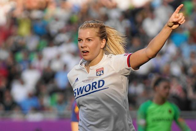 Ada Hegerberg won't star on the biggest stage in women's soccer this summer, but she's hoping her actions lead to something even bigger. (Getty)