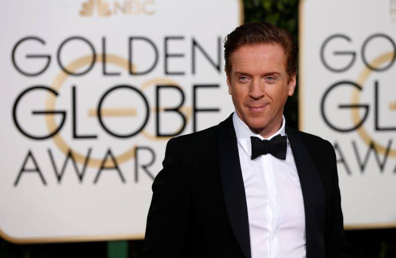 FILE PHOTO: Actor Damian Lewis arrives at the 73rd Golden Globe Awards in Beverly Hills