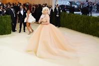 We're still not over Billie's breathtaking Oscar de la Renta gown. She brought the spirit of old Hollywood and the Holiday Barbie to the Met Gala carpet.