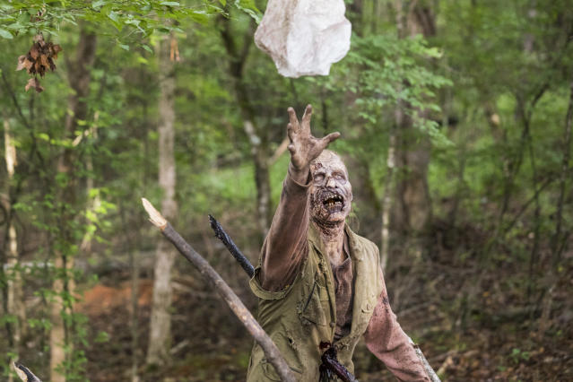 <p>AMC's <i>The Walking Dead.<br> (Photo: Jackson Lee Davis/AMC)</i> </p>