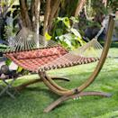 <p>Your backyard needs this <span>Coral Coast Tuscan 2 Person Double Hammock</span> ($78).</p>