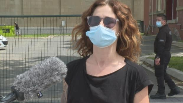 Taryn Deane said Sweltering Songs festival is a hopeful sign of things going back to normal. (Gary Moore/CBC - image credit)