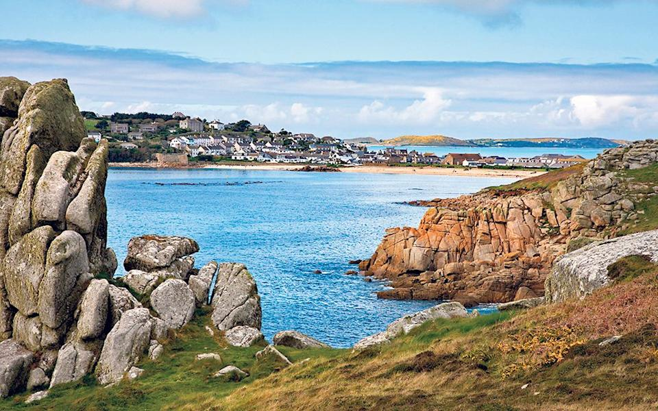 Island life: St Mary's is the largest of the beautiful Isles of Scilly -  Steve Taylor