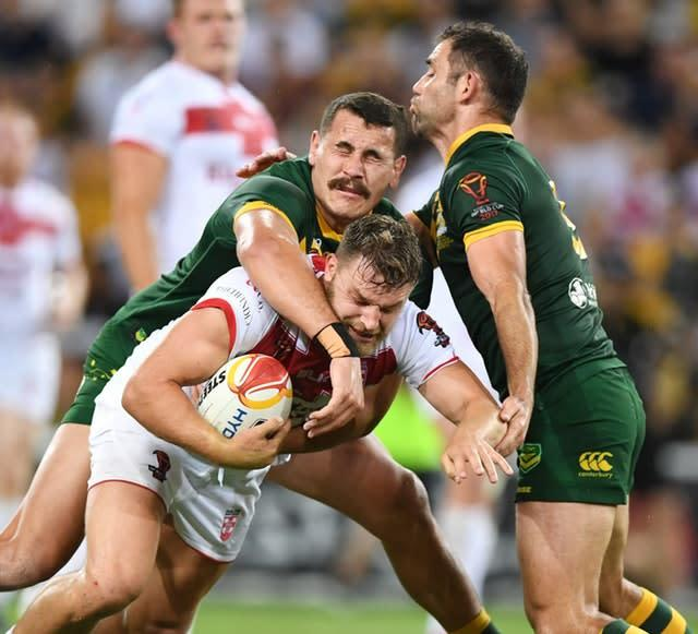 The Kangaroos tour, due to take place in October and November, is likely to become victim to an extension of the domestics seasons in the northern and southern hemispheres (Gregg Porteous/PA)