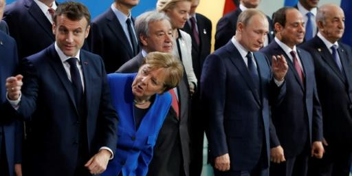 World leaders gathered in Berlin to discuss a new push for peace in conflict-wracked Libya