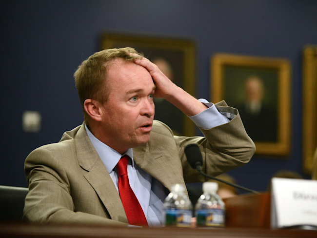 White House's Mulvaney backs