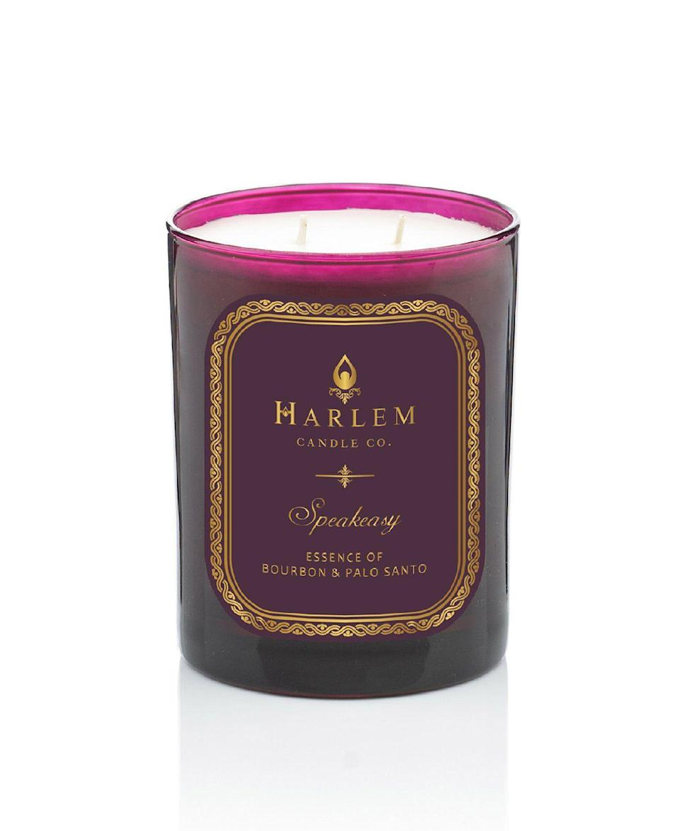 """<p><strong>Harlem Candle Co.</strong></p><p>harlemcandlecompany.com</p><p><strong>$45.00</strong></p><p><a href=""""https://www.harlemcandlecompany.com/products/speakeasy-luxury-candle"""" rel=""""nofollow noopener"""" target=""""_blank"""" data-ylk=""""slk:Shop Now"""" class=""""link rapid-noclick-resp"""">Shop Now</a></p><p>I'm gonna go ahead and apologize right now because you are going to want to buy all of Harlem Candle Co.'s scents. Start with this one if you love sensual notes like dark chocolate and plum blossoms.</p>"""