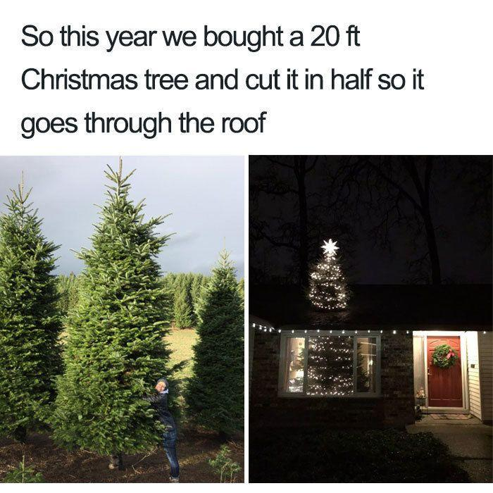 """<p>And the <a href=""""https://www.goodhousekeeping.com/holidays/christmas-ideas/g2707/decorated-christmas-trees/"""" rel=""""nofollow noopener"""" target=""""_blank"""" data-ylk=""""slk:Best Christmas Tree Ever"""" class=""""link rapid-noclick-resp"""">Best Christmas Tree Ever</a> award goes to this person whose tree makes us go, """"Wait, what?"""" Now this is how you make Santa proud. </p>"""