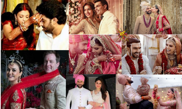 DeepVeer And All The Bollywood Weddings Which Made Headlines Over The Years