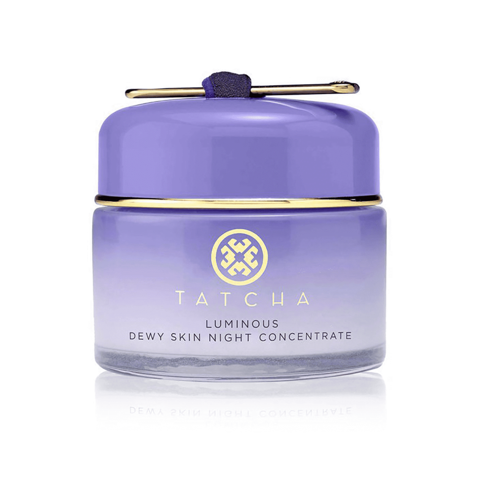"""<p>Joining the family of Tatcha's beloved face mist, <a href=""""https://www.allure.com/story/tatcha-luminous-dewy-skin-mask?mbid=synd_yahoo_rss"""" rel=""""nofollow noopener"""" target=""""_blank"""" data-ylk=""""slk:sheet mask"""" class=""""link rapid-noclick-resp"""">sheet mask</a>, and night cream is <a href=""""https://www.allure.com/story/tatcha-the-dewy-skin-cream-mario-dedivanovic?mbid=synd_yahoo_rss"""" rel=""""nofollow noopener"""" target=""""_blank"""" data-ylk=""""slk:The Dewy Skin Cream"""" class=""""link rapid-noclick-resp"""">The Dewy Skin Cream</a>, a rich cream inspired by makeup artist Mario Dedivanovic that features Japanese purple rice (hence the lavender color), Okinawan algae blend, and hyaluronic acid to plump skin with hydration. Look for it in stores next month.</p> <p><strong>$110</strong> (<a href=""""https://click.linksynergy.com/deeplink?id=MZ9491VLjxM&mid=38643&u1=bestfacemoisturizer&murl=https%3A%2F%2Fwww.tatcha.com%2Fproduct%2FDS-NIGHT-CONCENTRATE.html"""" rel=""""nofollow noopener"""" target=""""_blank"""" data-ylk=""""slk:Shop Now"""" class=""""link rapid-noclick-resp"""">Shop Now</a>)</p>"""