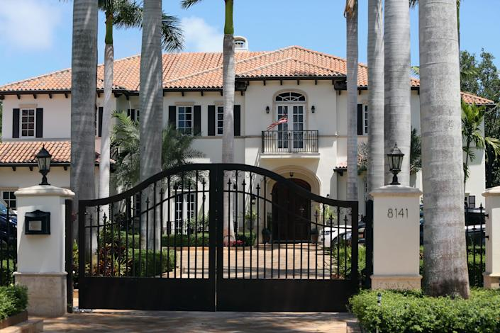 The Jardon family lives in this $4 million Miami compound, purchased in 2016 after the family founded the Seduction clinics in Miami-Dade. Gretel Jardon and her husband, Rayner Aguiar, manage the business with her father, Luis Jardon.