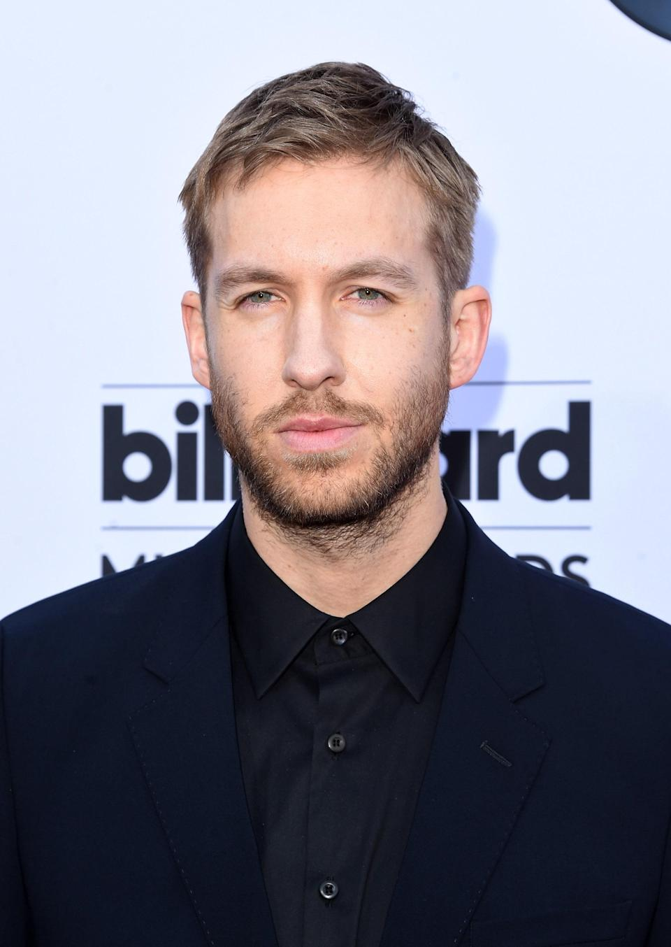 """Many were surprised to learn that Calvin Harris's real name is actually Adam Richard Wiles after his then girlfriend Taylor Swift <a href=""""https://www.glamour.com/story/taylor-swift-thanks-calvin-har?mbid=synd_yahoo_rss"""" rel=""""nofollow noopener"""" target=""""_blank"""" data-ylk=""""slk:referred to him as such"""" class=""""link rapid-noclick-resp"""">referred to him as such</a> while accepting her Female Artist of the Year win at the iHeartRadio Awards in 2016. But in early 2020, he <a href=""""https://www.dailyrecord.co.uk/news/scottish-news/scots-dj-calvin-harris-changing-21355688"""" rel=""""nofollow noopener"""" target=""""_blank"""" data-ylk=""""slk:revealed"""" class=""""link rapid-noclick-resp"""">revealed</a> that he was considering changing his stage name again because of too much """"negativity"""" associated with the Harris moniker."""