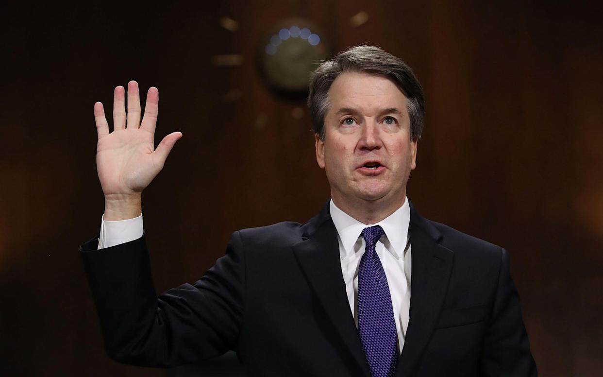 Brett Kavanaugh's confirmation vote will be a pivotal moment for both Republicans and Democrats - AFP