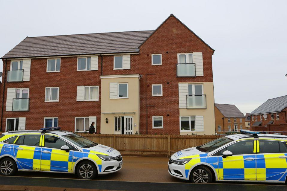 Marion Price was killed. ather home in Earls Barton. (SWNS)