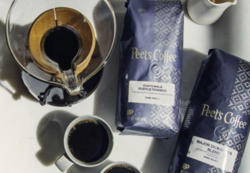 """Peet's Coffee has its own <a href=""""https://fave.co/2OgTEf2"""" target=""""_blank"""" rel=""""noopener noreferrer"""">Coffee of the Month Club</a>. The club sends you coffee, which has been recently roasted before being sent out, once a month. There are """"<a href=""""https://fave.co/2OgTEf2"""" target=""""_blank"""" rel=""""noopener noreferrer"""">Curated Subscriptions</a>"""" that are picked out by the brand and a """"<a href=""""https://fave.co/2OgTEf2"""" target=""""_blank"""" rel=""""noopener noreferrer"""">Frequent Brewer Subscription</a>,"""" which you build yourself. The subscriptions start at $16 a month.<br /><br />Check out the <a href=""""https://fave.co/2OgTEf2"""" target=""""_blank"""" rel=""""noopener noreferrer"""">Coffee of the Month Club at Peet's Coffee</a>."""