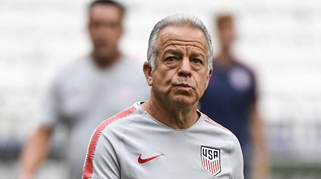 Dave Sarachan has done admirably as USMNT manager, but he's not the long-term solution. (SI)