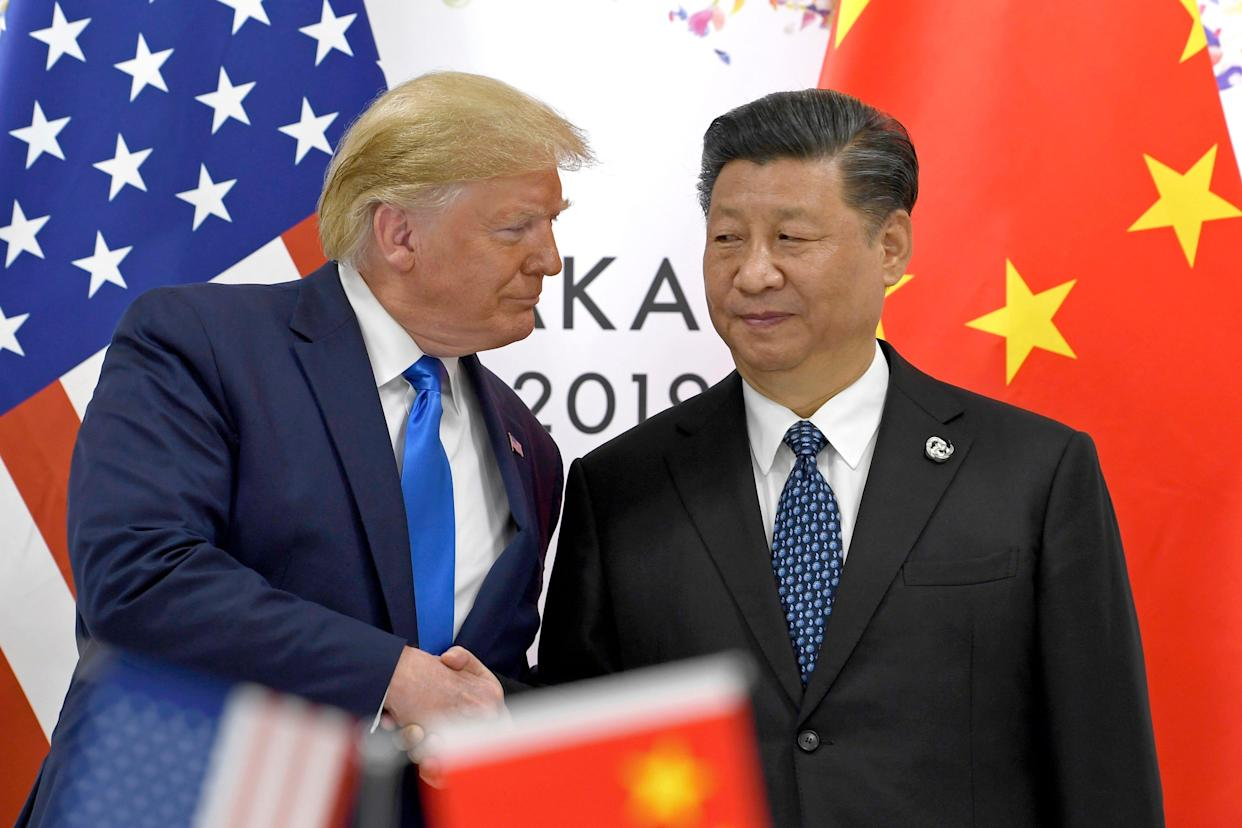 President Donald Trump and Chinese President Xi Jinping in Osaka, Japan, on June 29, 2019.