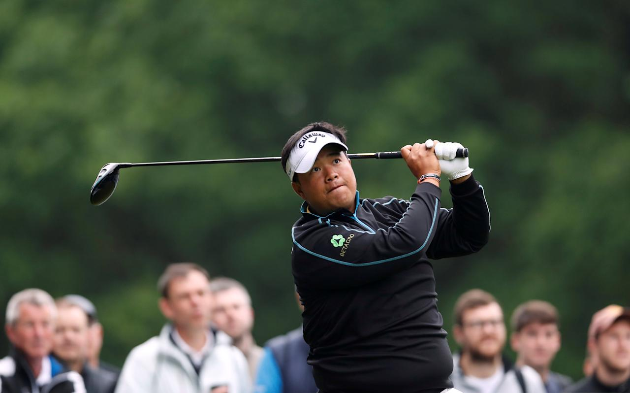 Golf - European Tour - BMW PGA Championship - Wentworth Club, Virginia Water, Britain - May 25, 2018   Thailand's Kiradech Aphibarnrat during the second round   Action Images via Reuters/Paul Childs