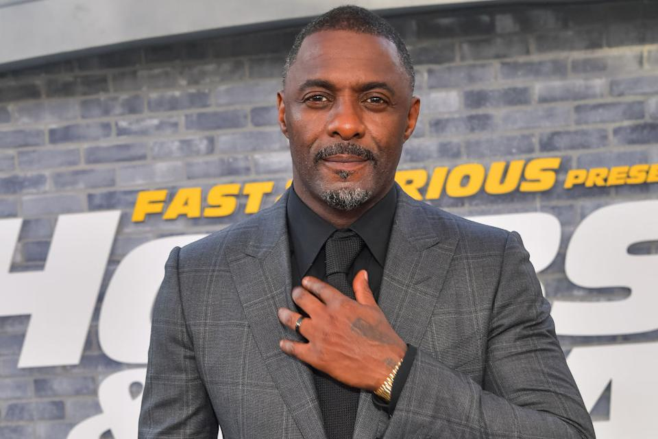 Idris Elba came in in third place. (Getty Images)