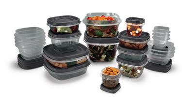 Rubbermaid® - a leader in home organization and food storage solutions - announces EasyFindLids™ Food Storage Containers with SilverShield® for Antimicrobial Product Protection, a new variety of durable food storage containers with built-in antimicrobial properties to prevent the growth of odor-causing bacteria on the product surface.