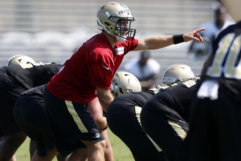New Orleans Saints quarterback Drew Brees is hoping to get back to another Super Bowl. (AP)