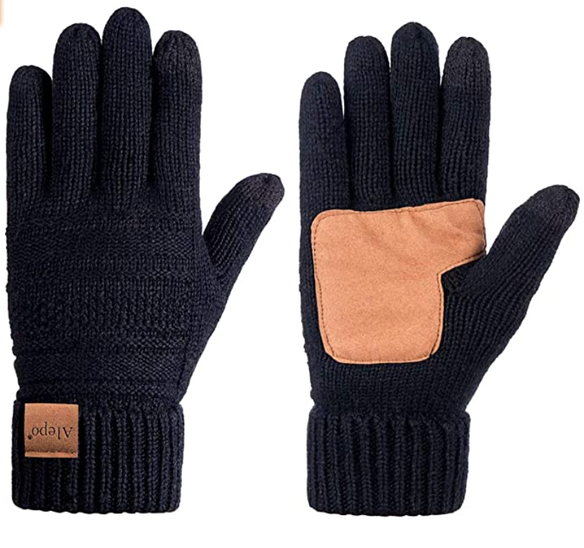 Alepo Women's Wool Thinsulate Gloves