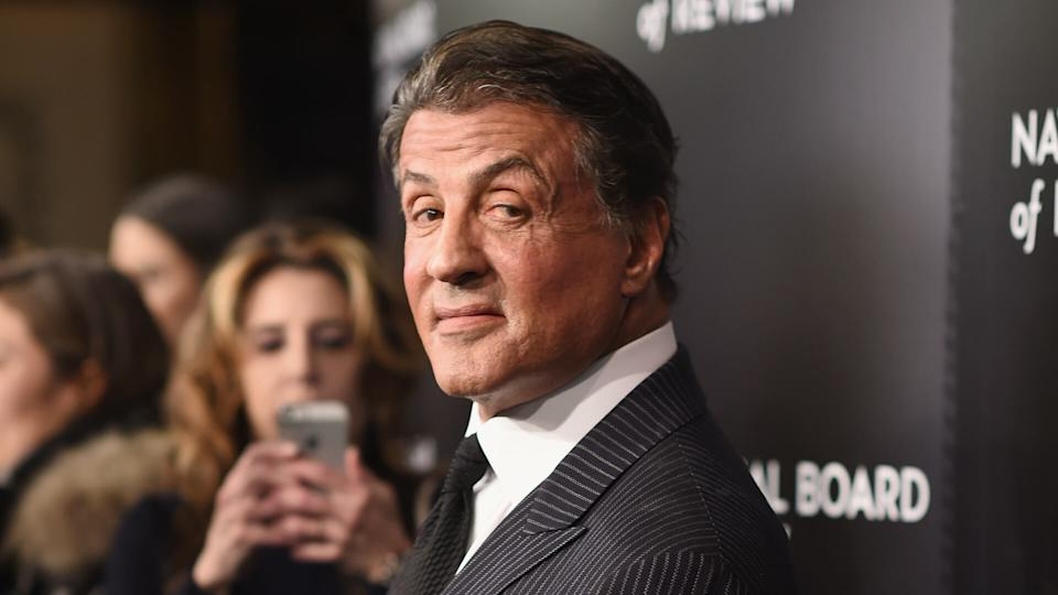 NEW YORK, NY - JANUARY 05:  Actor Sylvester Stallone attends the 2015 National Board of Review Gala at Cipriani 42nd Street on January 5, 2016 in New York City.