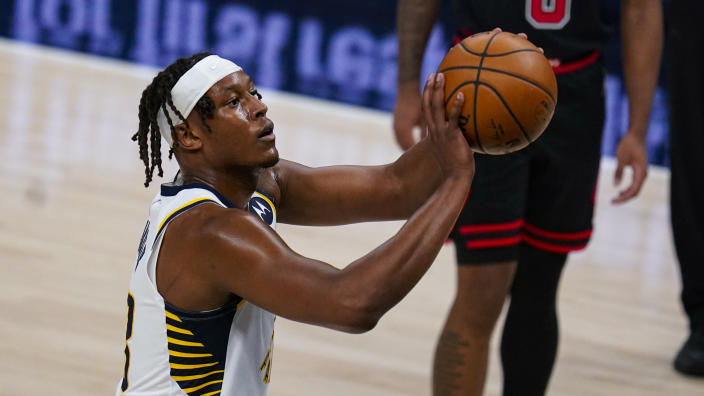 Indiana Pacers center Myles Turner