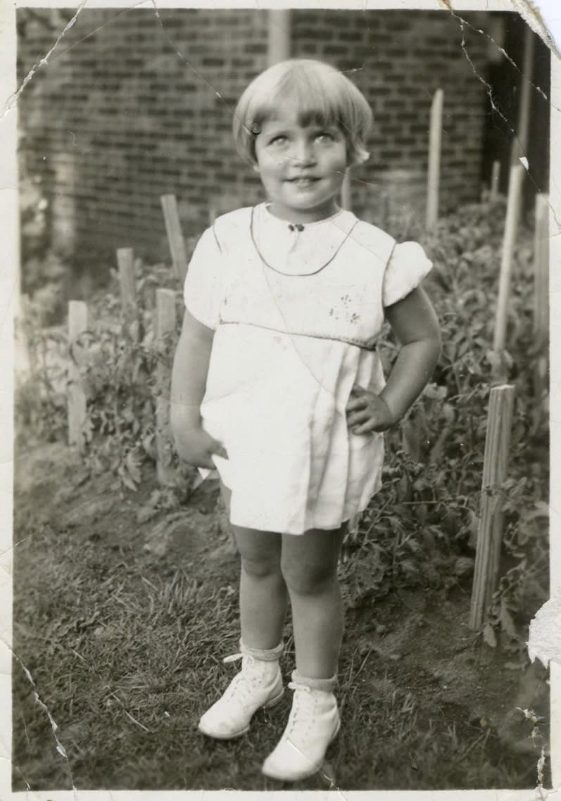Ruth Bader at age 2. (Photo: Supreme Court of the United States)