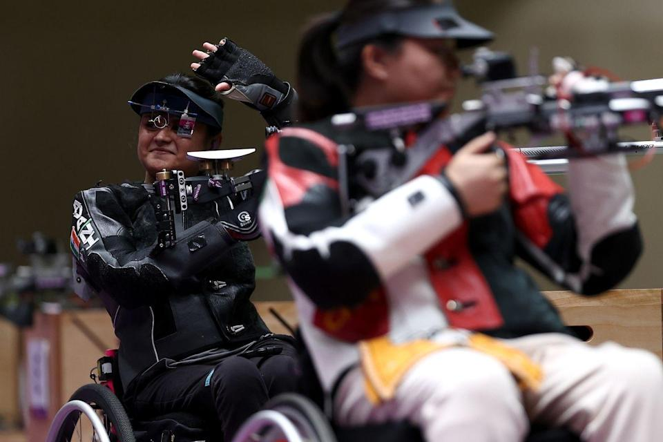 <p>India's Avani Lekhara won gold in the women's final 10m Air rifle (standing) SHI event. Lekhara broke the Paralympic record and finished with a score of 249.6 (equal to the world record). </p>