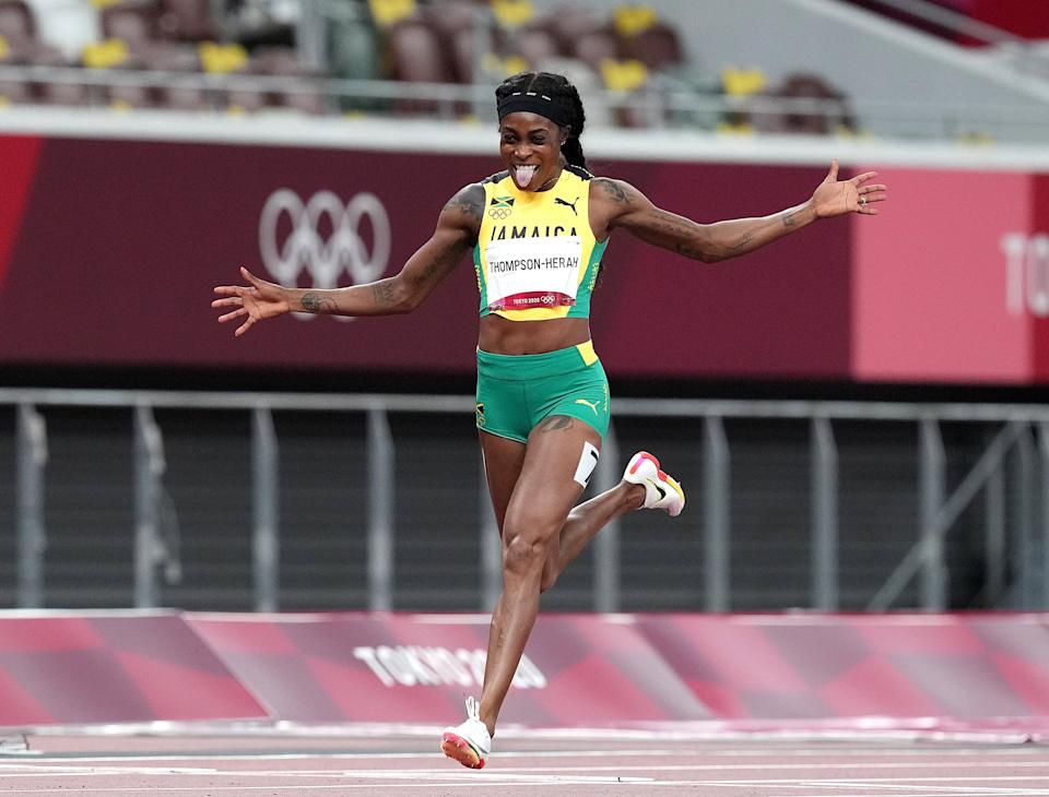 Elaine Thompson-Herah is among those to break records in Tokyo (Martin Rickett/PA) (PA Wire)