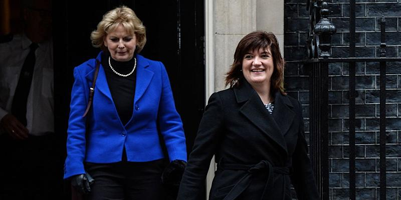 Anna Soubry and Nicky Morgan