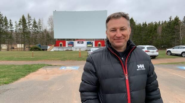 Bob Boyle, owner of the Brackley Drive-In, says the number of days a week they'll be open will depend on the tourism season and demand. (Travis Kingdon/CBC - image credit)