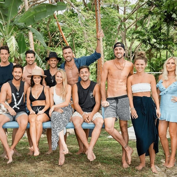 The 2018 cast of Bachelor In Paradise featured former Bachelor and Bachelorette stars. Photo: Channel Ten