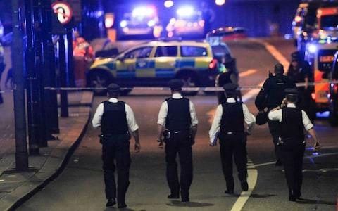 The number of terror arrests has reached a record high - Credit: AFP