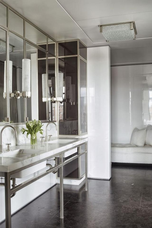 "<p>Beyond being convenient, double vanities add a dose of luxury to a <a href=""https://www.elledecor.com/design-decorate/room-ideas/g140/the-bathroom-gallery-16975/"" target=""_blank"">bathroom</a> design scheme. And if you're planning to put your home on the market at some point, there's no denying that a potential buyer would be thrilled about a bathroom with dual sinks. </p><p>Scroll down for a look at 20 of our favorite double vanity design ideas, from minimalist looks to glamorous maximalist styles. </p>"