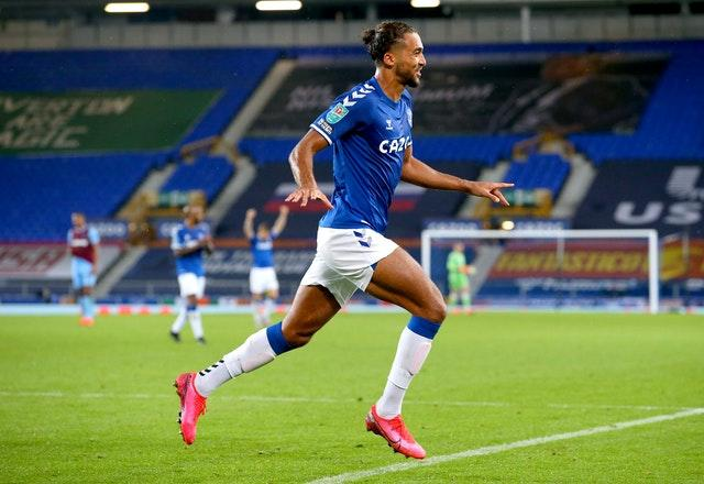 Everton's Dominic Calvert-Lewin is among the new faces in the squad